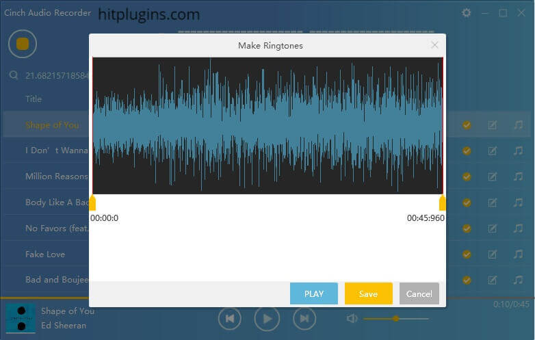 Cinch Audio Recorder 4.0.2 Crack + License Key