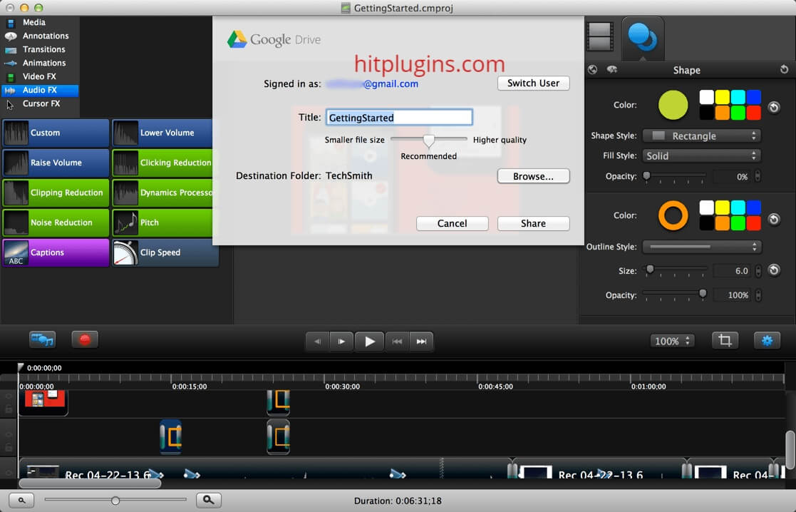 Camtasia Studio Serial Key With Latest Version Crack