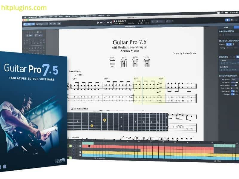 Guitar Pro Crack 7.5.5 Build 1799 Keygen Full Free Download 2021