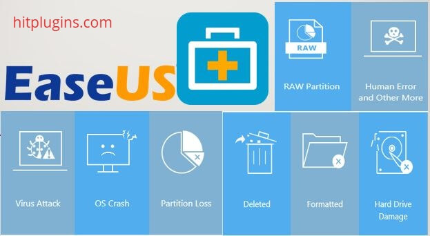 EaseUS Data Recovery Crack Plus License Key Latest Version