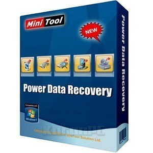 MiniTool Power Data Recovery Crack And Serial Key 2020 logo