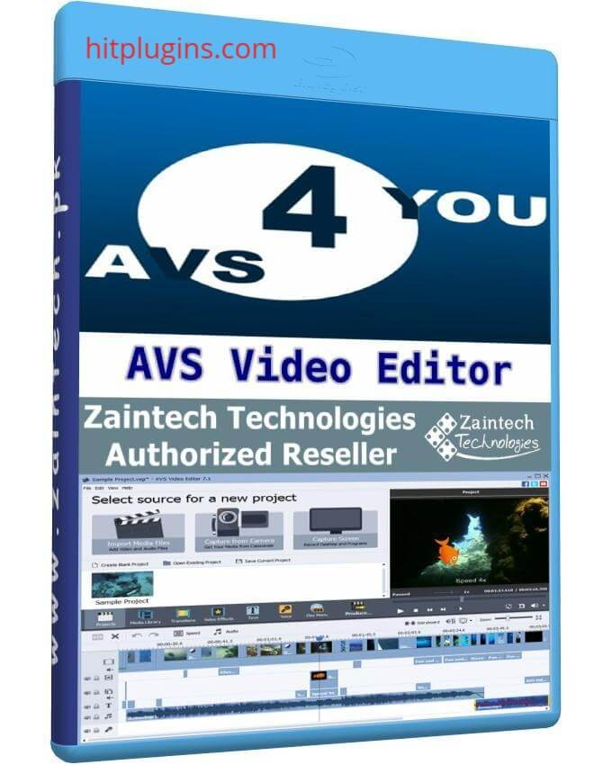 AVS Video Editor Crack Plus Activation Key Latest logo