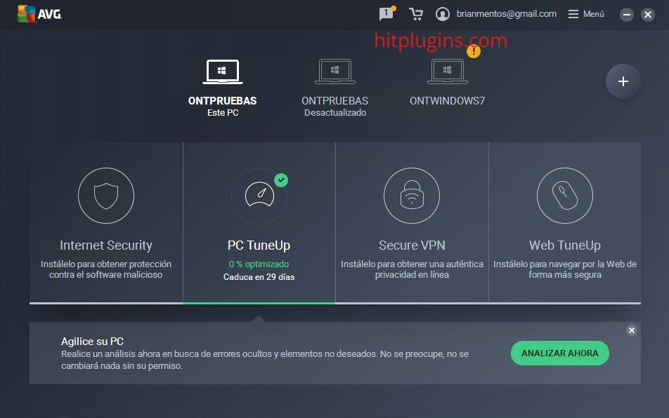 AVG PC TuneUp Activation Code